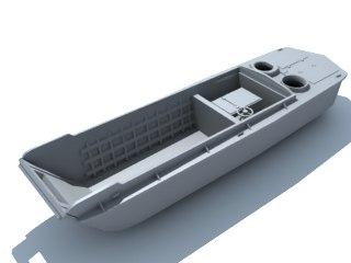 lcvp higgins boat 3d model