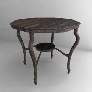 3d old table