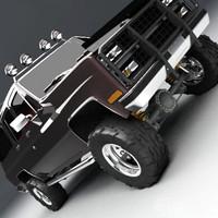 offroad suburban 3d model
