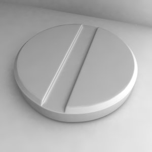 3ds max pill