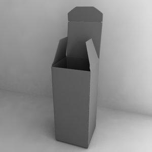dxf paper box
