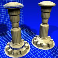 pod tower 080307 01 3d model