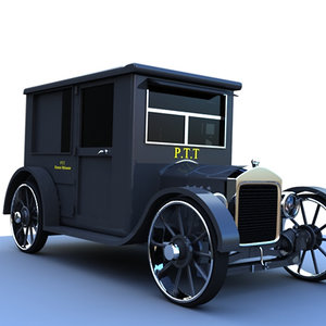 3dsmax old truck