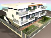 house c4d