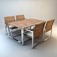 design garden table set small