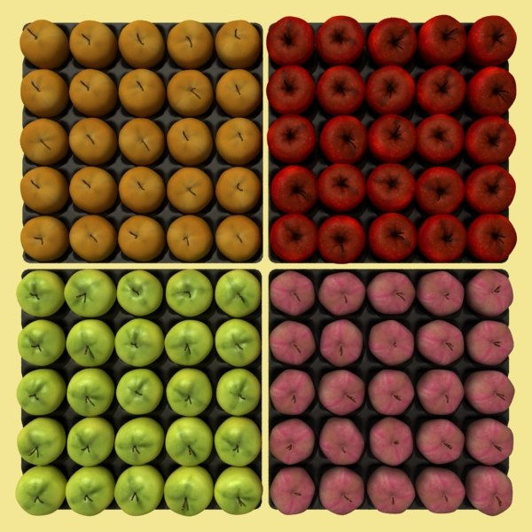 apples boxes 3ds