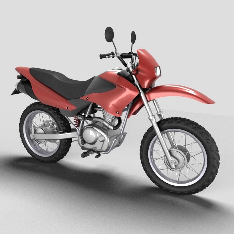 enduro 125 3d model