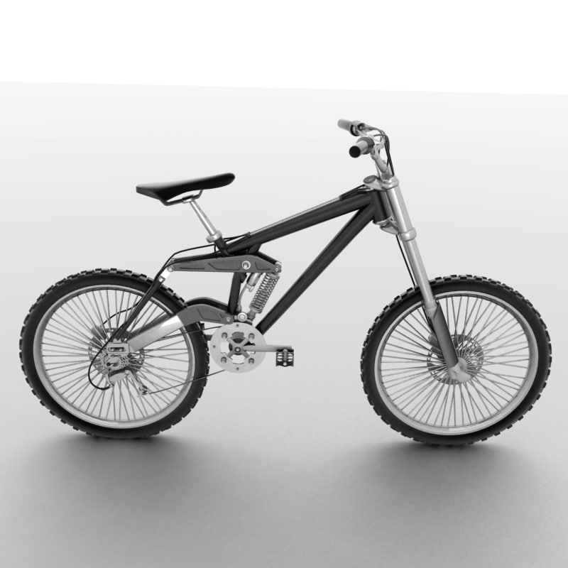 mountain bike 3d 3ds