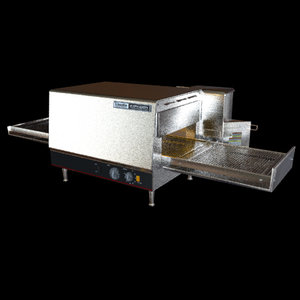 3d conveyor oven model