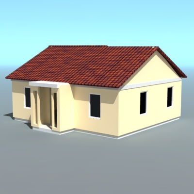 hause willage 3d 3ds