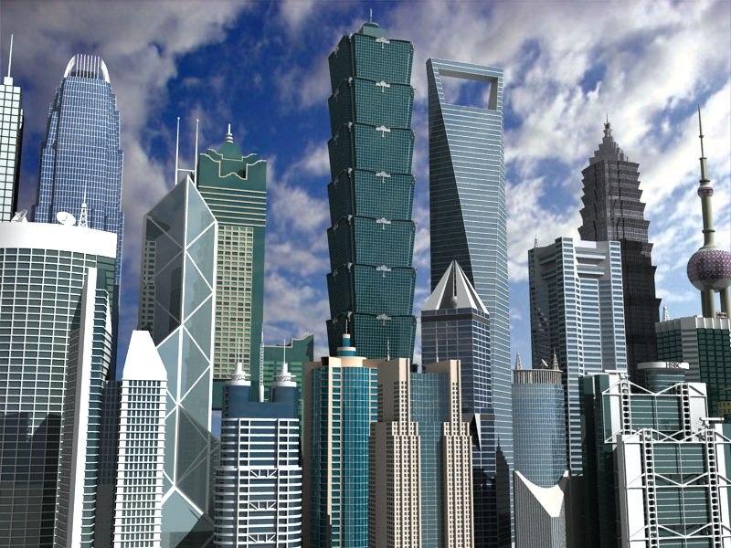 3d china skyscrapers vol 2