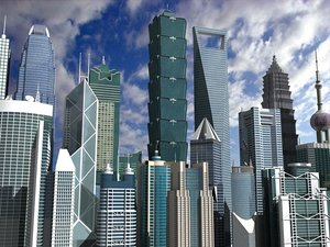 3d china skyscrapers vol 2
