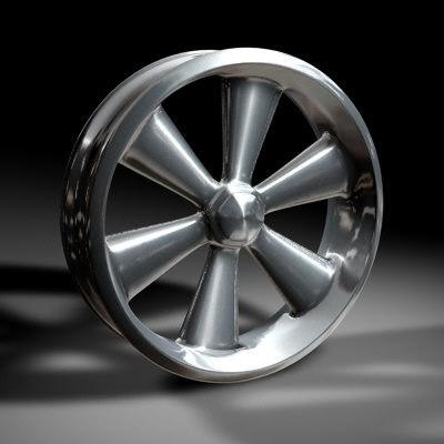 cinema4d alloy wheel