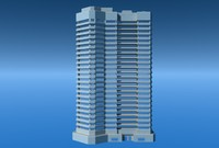 3ds max apartment tower