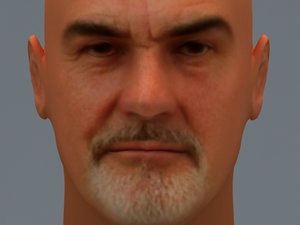 3d sean connery model