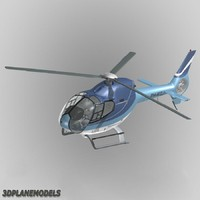 eurocopter ec-120b heliflight ec 3d model