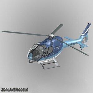 eurocopter ec-120b heliflight ec 3d model
