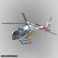 3d eurocopter ec-120b spain air force model