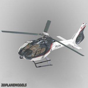 eurocopter ec-130 heli alps 3d 3ds