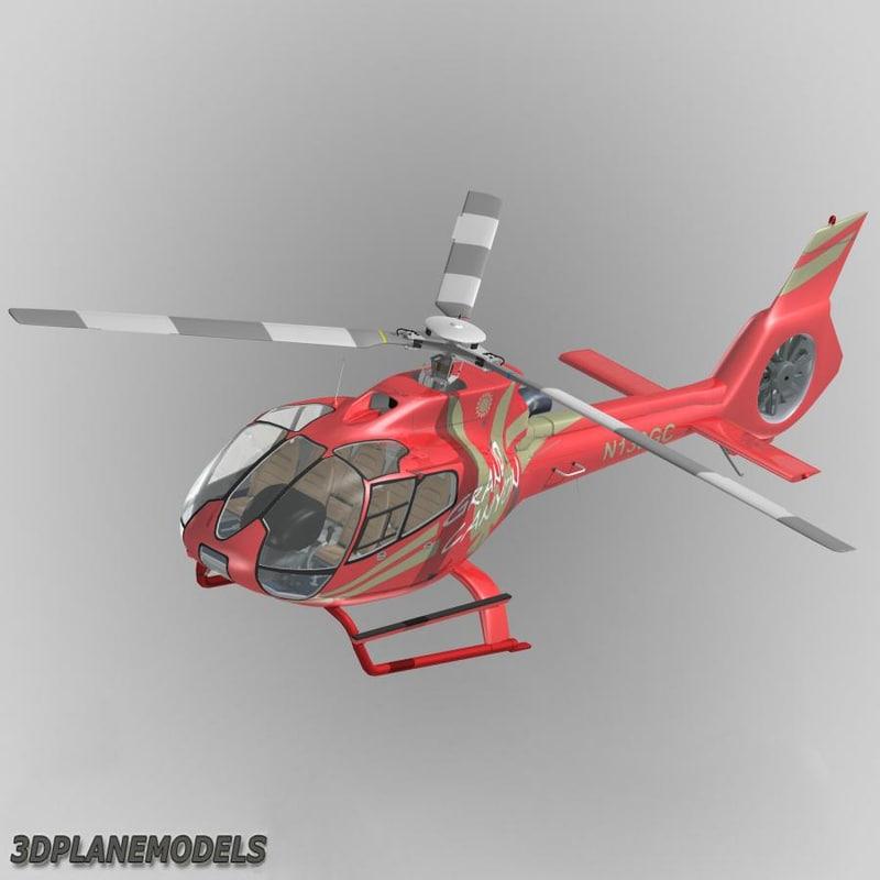 eurocopter ec-130 grand canyon 3d model
