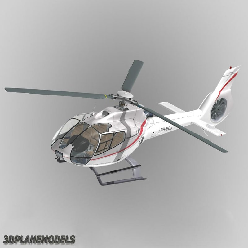 3d 3ds eurocopter ec-130 heli holland