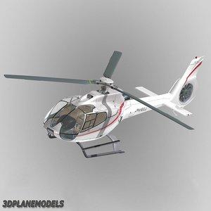 3d 3ds eurocopter ec-130 heli holland