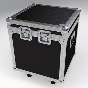 3d model flight case