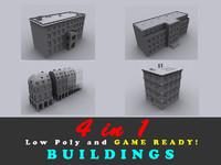 building ready 3d model