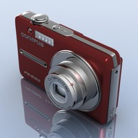 3dsmax olympus fe-280 camera