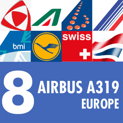 3d model airbus a319 airliner european