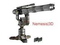 3d model rocket launcher