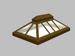 3d model skylight