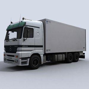 medium transport truck 3d max
