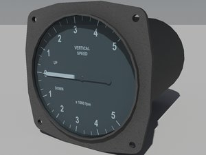 3d speed vertical indicator