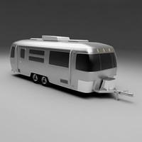 caravan classic 3d model