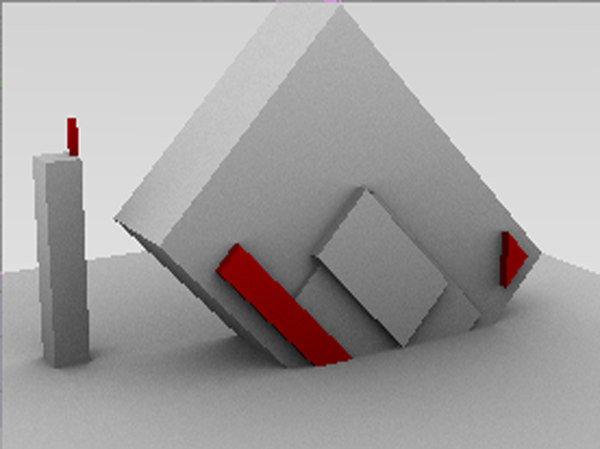 free axn modeled 3d model