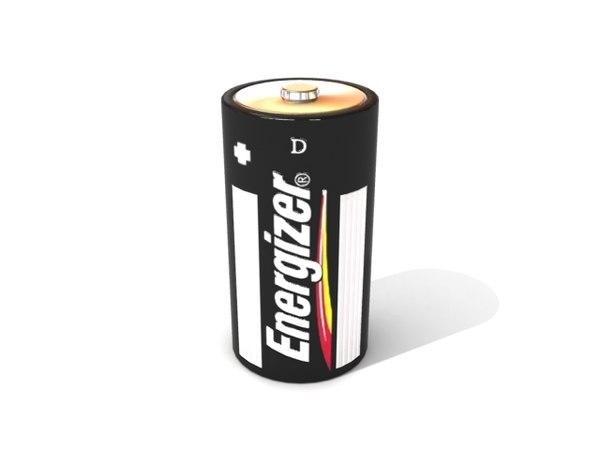 battery 3d max