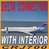CRJ700-DELTA-with interior