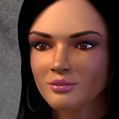 max female human character dasha