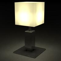 3d obj lamp