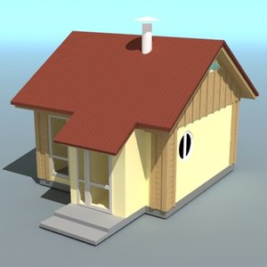 3ds max hause