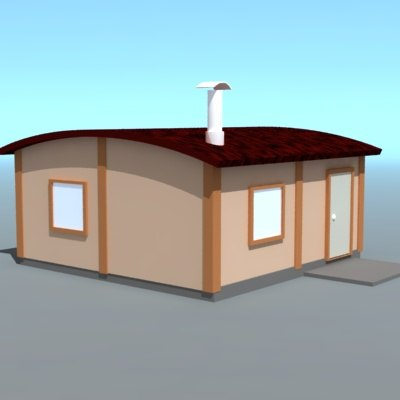 3ds max modulhause willage
