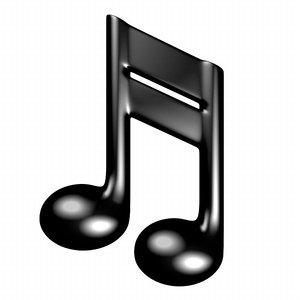 musical symbol 3d 3ds