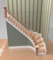 traditonal staircase