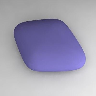 3d model pill