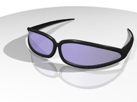 sun glasses shades 3d 3ds