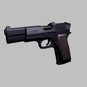fn browning pistol 3d 3ds
