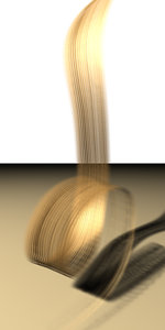 3d hair model