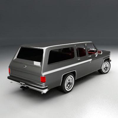 suv car vehicle 3d max