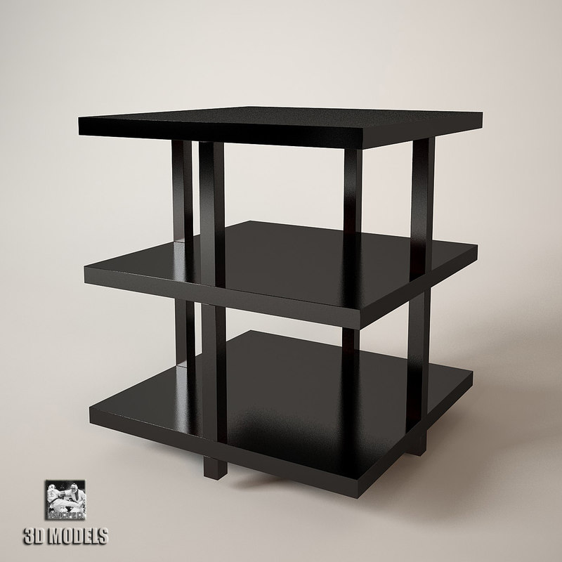 3d occasional table model